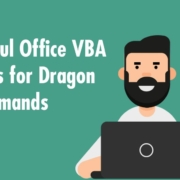 Useful Office VBA Links for Dragon Advanced Scripting Commands