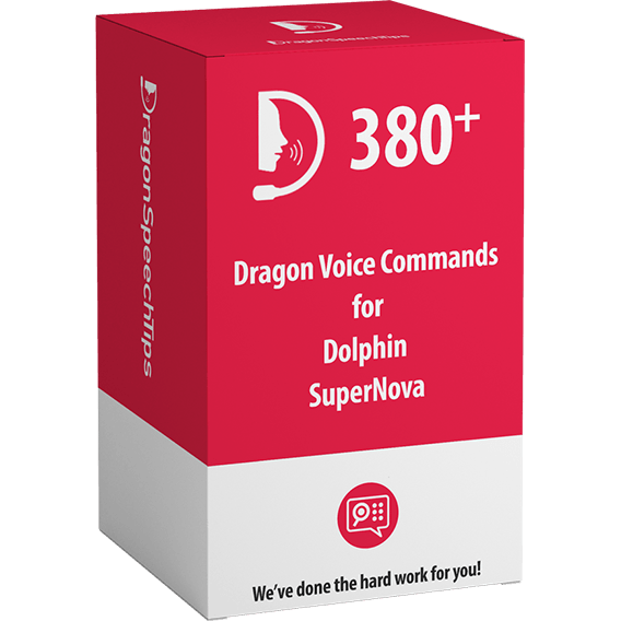 Dragon Professional commands for Dolphin SuperNova by DragonSpeechTips