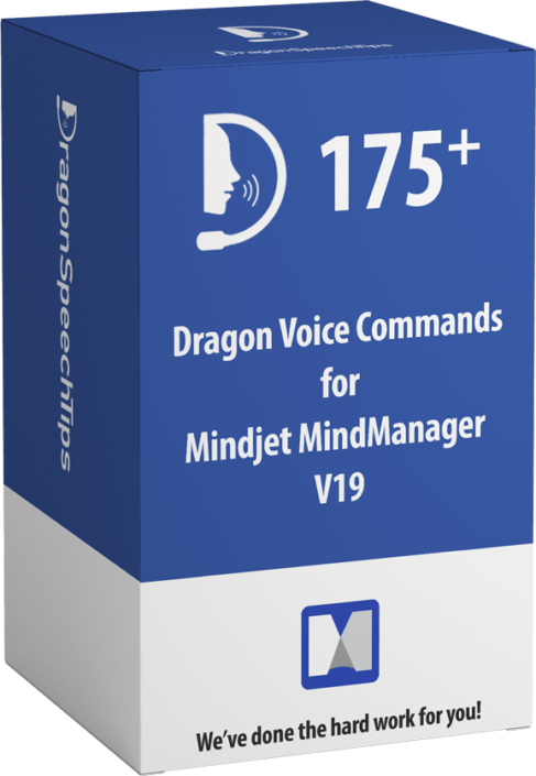 Dragon commands for Mindjet MindManager v19 Dragon Speech Tips