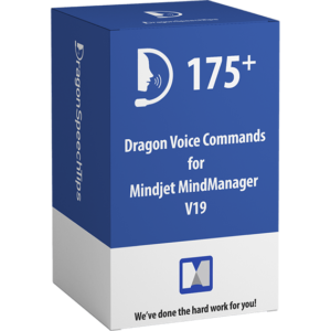 Dragon Professional commands for Mindjet MindManager v19 dragonspeechtips