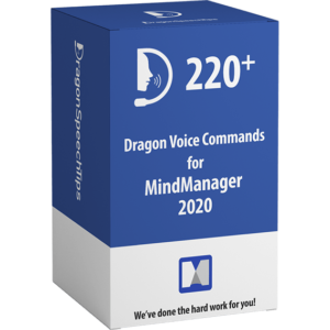 Dragon Professional commands for MindManager version 2020 dragonspeechtips