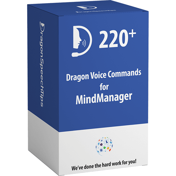 Dragon Professional commands for MindManager dragonspeechtips