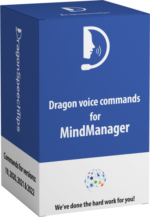 Dragon commands for Mindjet MindManager Dragon Speech Tips